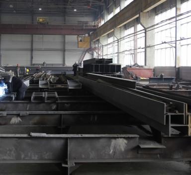 Изготовление строительных металлоконструкций