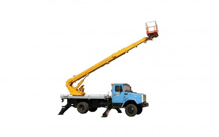 Автовышка Мелитополь на базе Зил 4331 (18м)